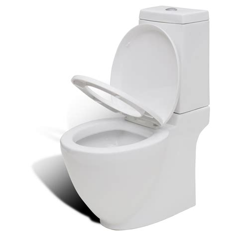 Bidet Set by Vidaxl Co Uk Stand Toilet Bidet Set White Ceramic