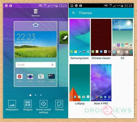 themes for the samsung galaxy note 4 enable galaxy s6 theme engine on samsung galaxy s4 s5 and