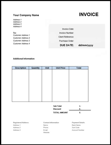 Bank Invoice Template Tomahawk Talk Invoice Exle Bank Invoice Template