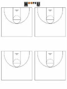 Basketball Playbook Template by Basketball Court Diagrams Printable Basketball Court