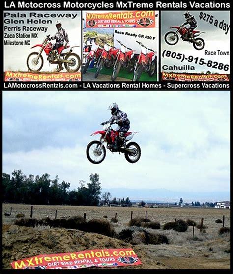 motocross gear los angeles dirtbike rentals la motocross supercross dirt bike