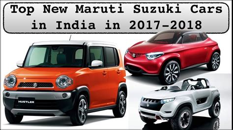 maruti suzuki all cars with price top new upcoming maruti suzuki cars in india 2017 2018