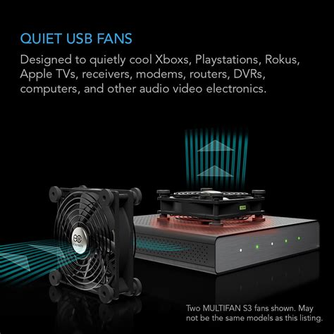 120mm usb cooling fan multifan s3 usb cooling fan 120mm ac infinity