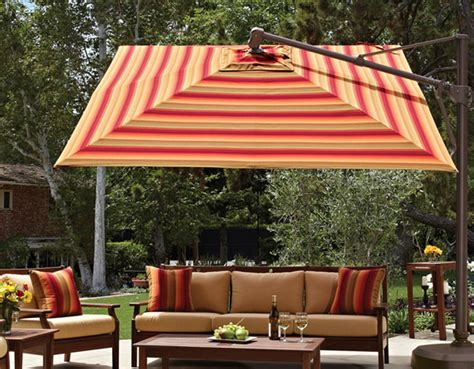 Treasure Garden Patio Umbrellas Patio Things Treasure Garden Has More Than 25 000 Variations Of Shade And Umbrella Solutions