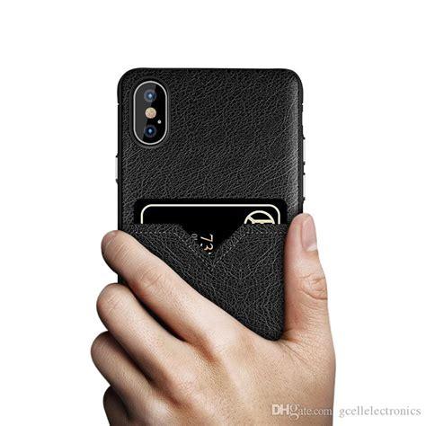 pu card holder cases  iphone xs max samsung galaxy