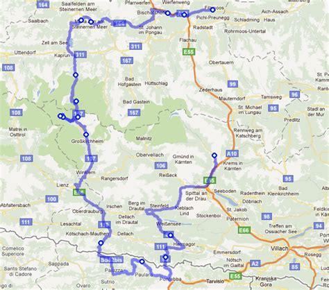 Motorradtour Norditalien by Motorradtouren Alt Gro 223 Glockner S 246 Lkpass