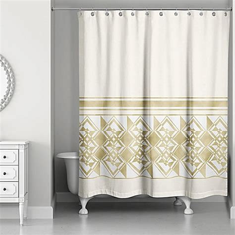 gold and ivory curtains decorative weighted shower curtain in ivory gold bed