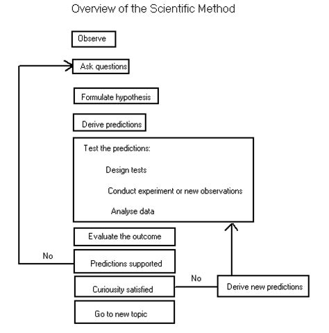 basic layout of a scientific report sciencemethodoverview
