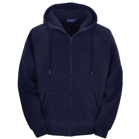 Blue Zip navy blue zip up sweatshirt fashion ql