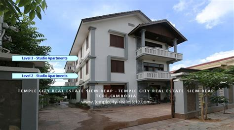 Real Estate Apartments For Rent In Studio Apartment For Rent In Siem Reap Temple City Real