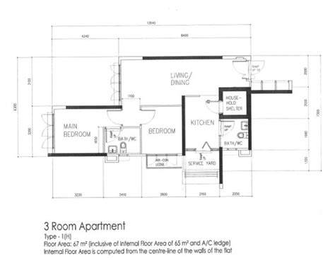 3 room flat floor plan bto 3 room hdb renovation by interior designer ben ng