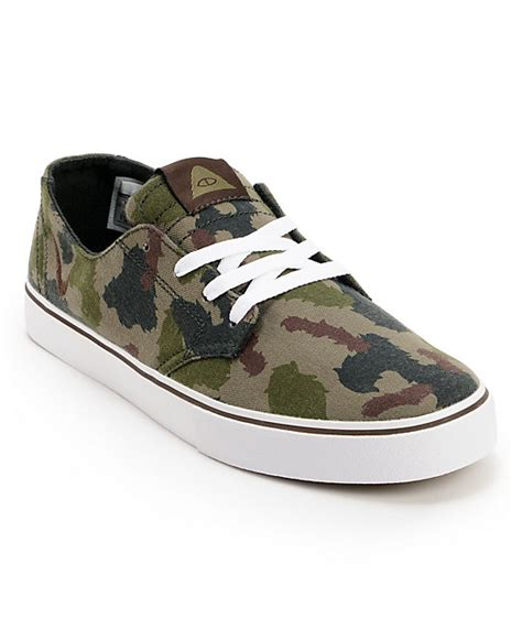 nike sb x poler braata lr poler green camo canvas shoes