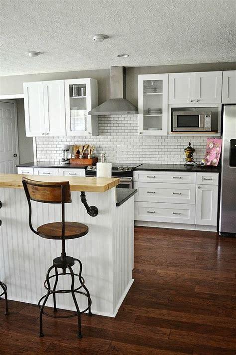 kitchen alluring white industrial kitchen with ceramic backsplash pinterest the world s catalog of ideas