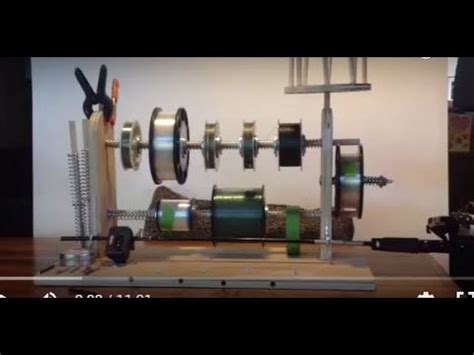 my diy electric line winder bloodydecks fishing spool line winder how to save money and do it yourself
