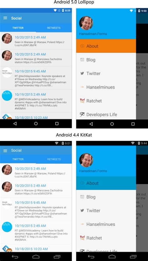 xamarin forms learning basics and starting project material design for your xamarin forms android apps