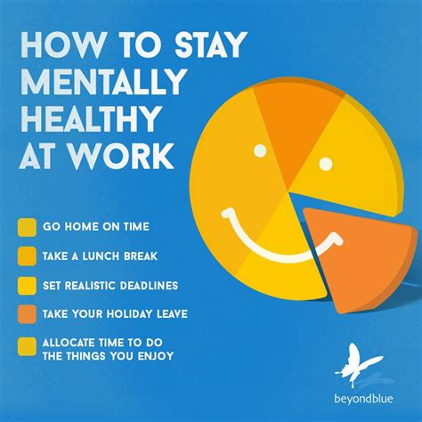 how do you a to stay stay mentally healthy at work dr romana bowd psychology