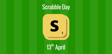 scrabble day scrabble day