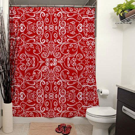 shower curtains with red in them best 25 red shower curtains ideas on pinterest