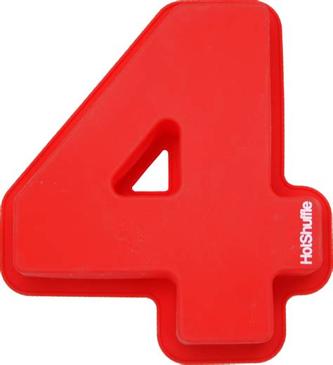 number 4 cake template large 30cm silicone number 4 cake mould tin