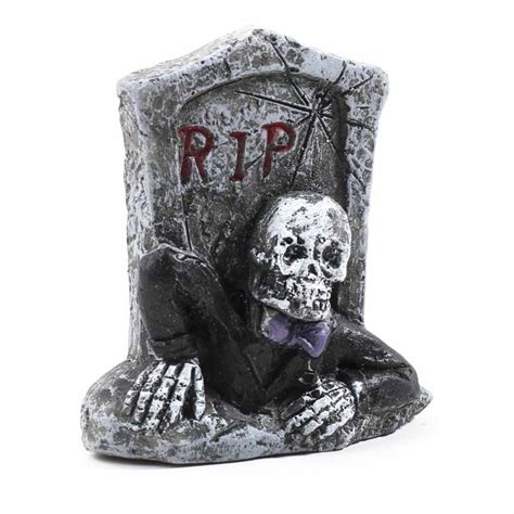 Tombstone Decorations by Miniature Tombstone Table Decor Fall And