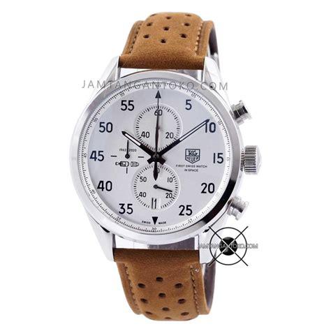 Jam Tangan Tag Heuer harga sarap jam tangan tag heuer spacex cal 1887 silver brown