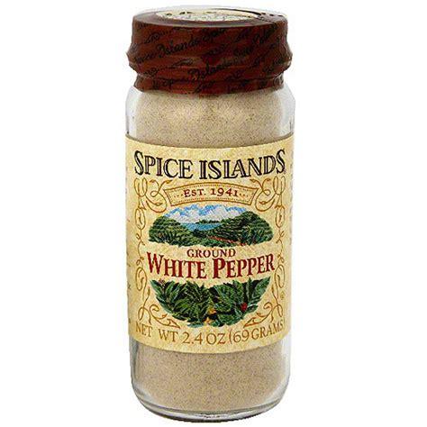 spice islands ground white pepper 2 6 oz pack of 3 walmart com