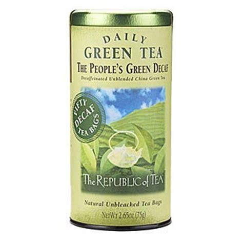 Republic Of Tea Detox Reviews by The Republic Of Tea The S Green Decaf Tea
