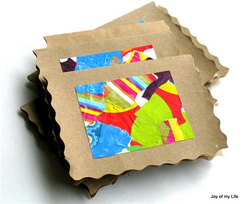 Paper Craft Ideas For Greeting Cards - the of my and other things recycled