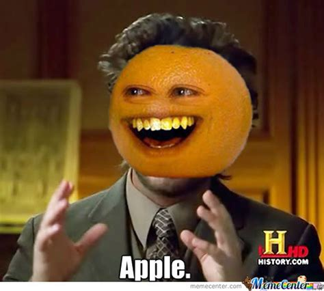 Orange Meme - annoying orange by ihatestairs17 meme center