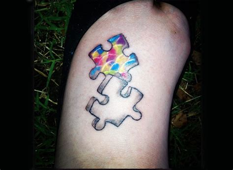 autism awareness tattoo autism awareness tattoos lovetoknow