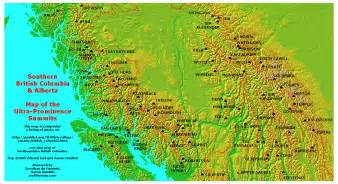 map of canada bc map of alberta and bc