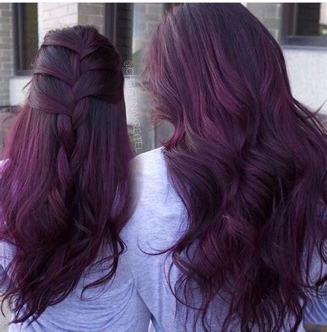 purple burgundy hair color best 25 burgundy hair ideas on