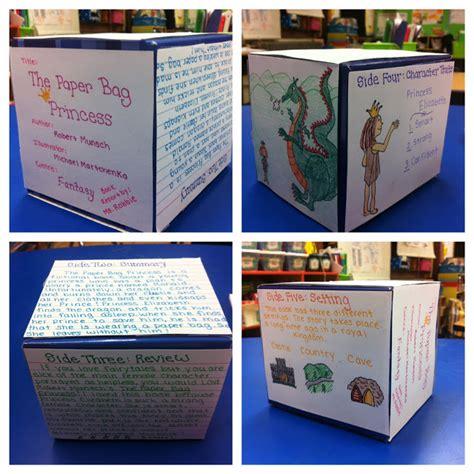 cube book report second grade banneker february vacation homework