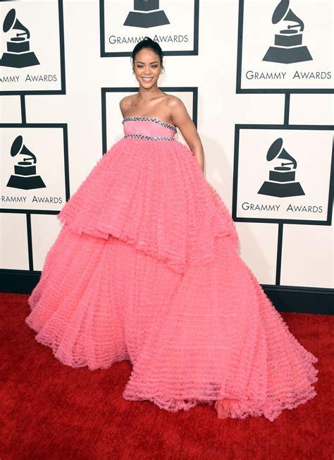 Grammy Awards Rihanna by Rihanna At 2015 Grammy Awards In Los Angeles Hawtcelebs