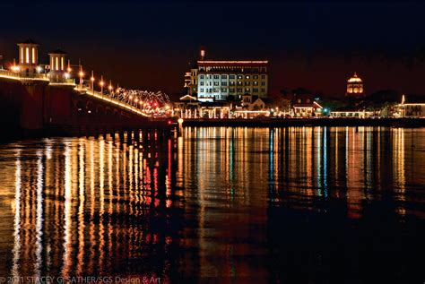 6 Reasons To Go Downtown In December St Augustine Social St Augustine Florida Lights