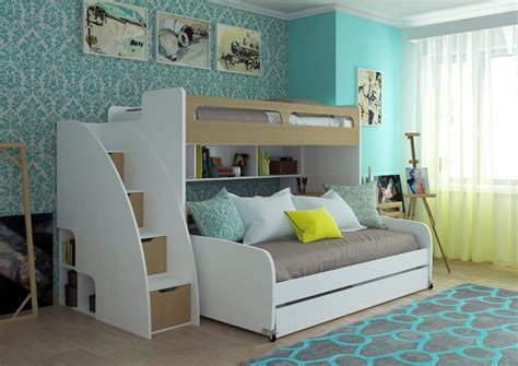 futon kids room kids room best bunk bed for girls in white color sed as