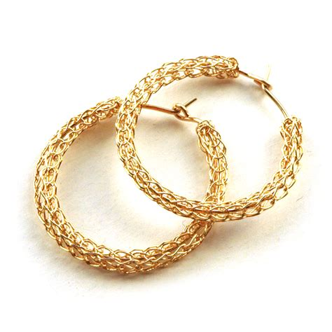 gold hoop earrings ebay gold earrings