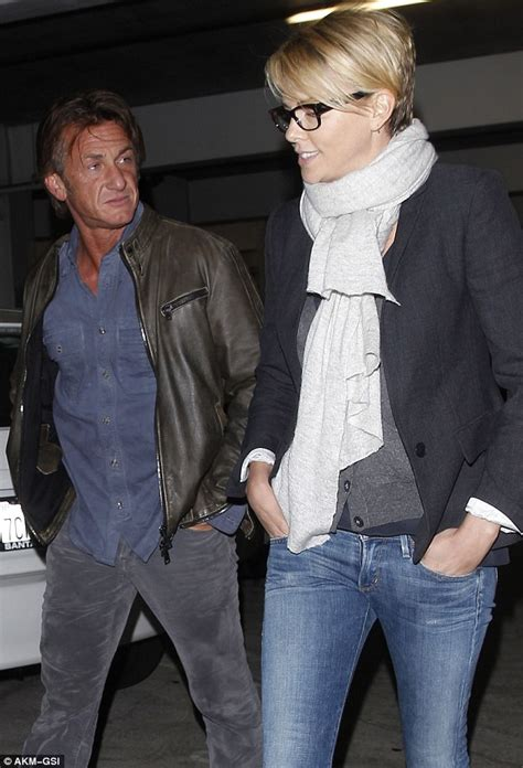 Penn Really Enjoys by Charlize Theron Enjoys Some Quality Time With