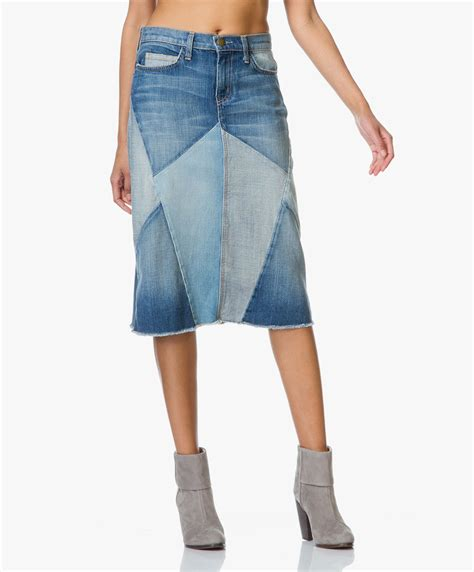Current Elliott Patchwork - current elliott the patchwork skirt tidal wave the
