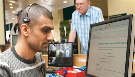 Do Blind Work employment and work rnib supporting with sight loss