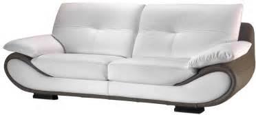 canap cuir nelia canap fixe pas cher mobilier et literie
