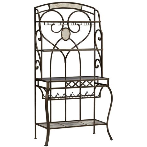 Bakers Rack Home Depot by Home Decorators Collection Celtic 19 25 In W Baker S Rack