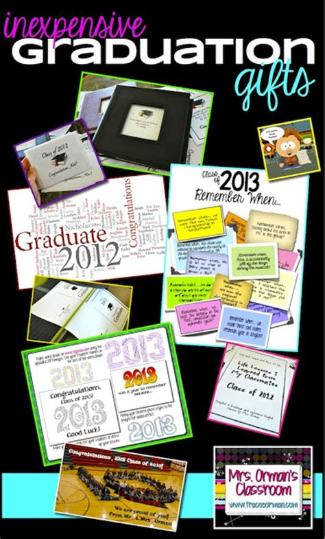 cheap graduation gifts mrs orman s classroom ten thoughtful and inexpensive