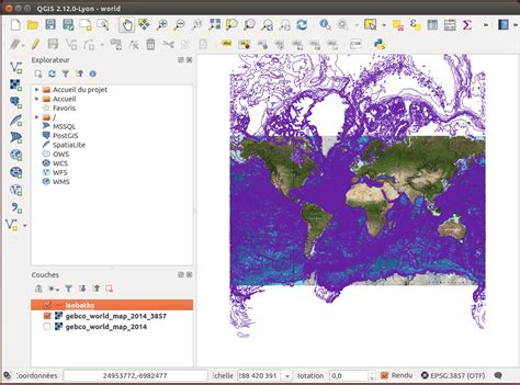 qgis projection tutorial projection on the fly reprojection in qgis geographic
