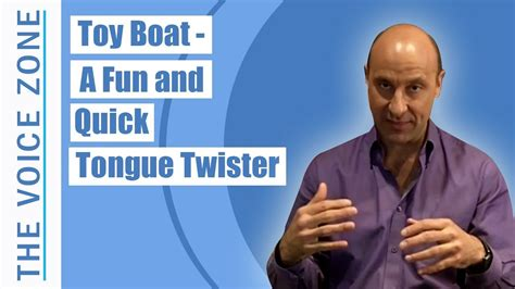 toy boat tongue twister toy boat a fun and quick tongue twister youtube