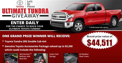 Bass Pro Toyota Tundra Sweepstakes - 2018 toyota tundra giveaway upcomingcarshq com