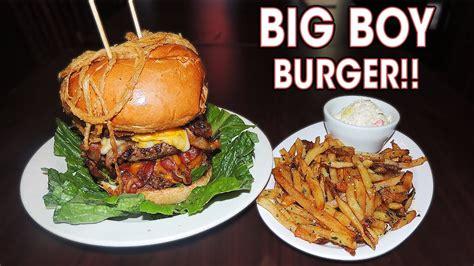 Burger Big D big boy burger challenge near chicago
