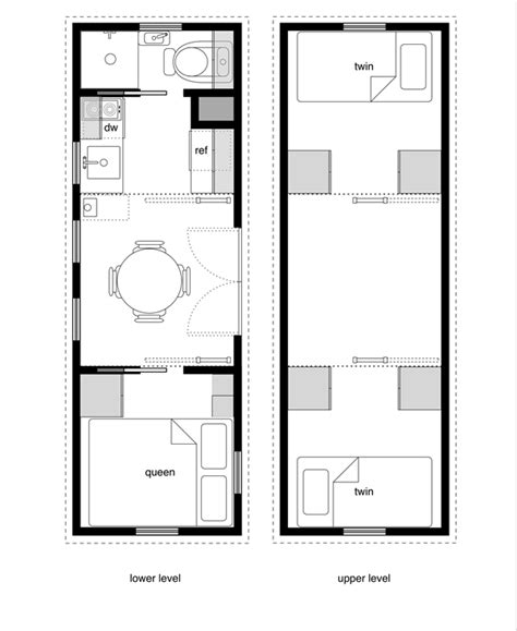 tiny homes on wheels plans free 8 by 24 foot tiny house on wheels layout perfect for 2