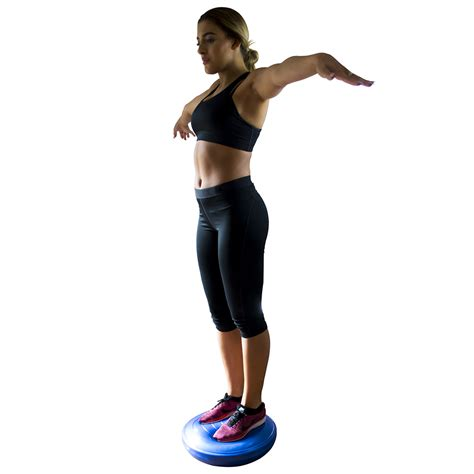 balance cusion air balance stability wobble cushion 45cm by physioroom