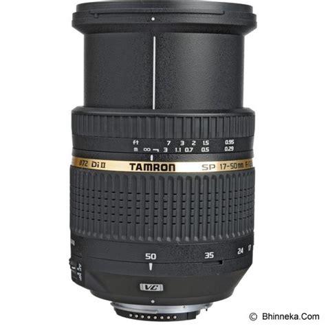 Jual Lensa Nikon 50mm F1 8 Murah jual tamron sp 17 50mm f 2 8 xr di ii vc ld aspherical if for nikon f b005nii murah